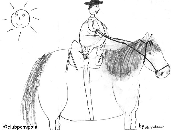 the saddle club coloring pages | Wiggins Weekly 3-47